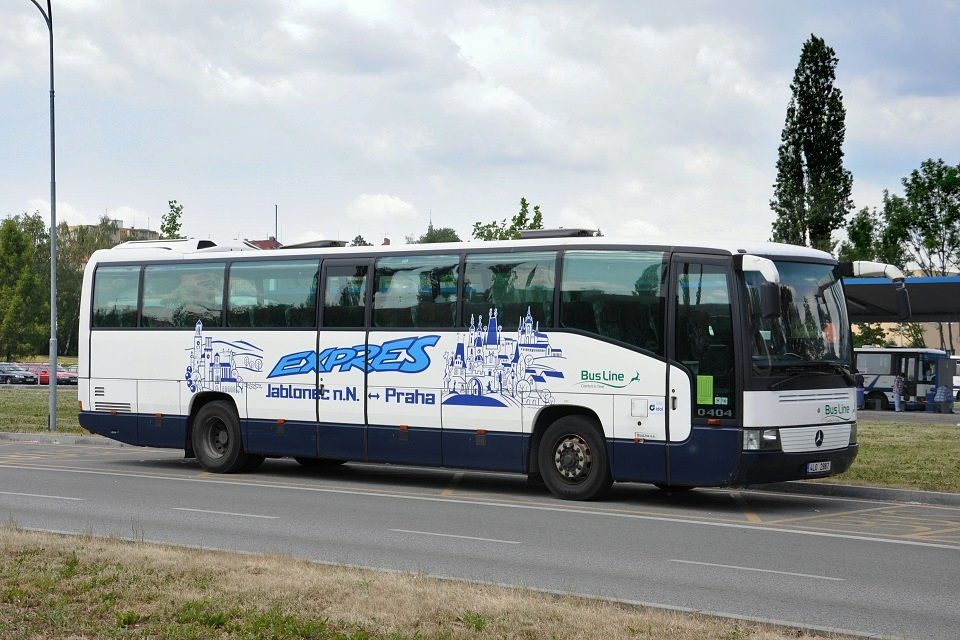Mercedes-Benz O 404-15 RH, Bus Line, 29.5.2012